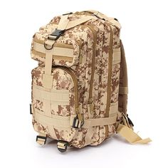 30L Outdoor Military Tactical Backpack for Camping Hiking Travel Mountaineering