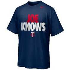 See a theme here? Joe also knows! He knows you voted him to next week's All-Star game. And for that, he's taking the #Twins to the playoffs, right?