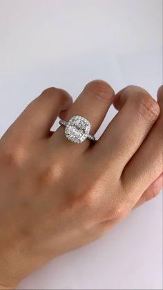 Cushion Cut Diamond Ring, Cushion Cut Engagement Ring, Cushion Cut Diamonds, Halo Engagement Rings, Gia Certified Diamonds, Ring Designs, Dream Wedding, Stone, Jewelry