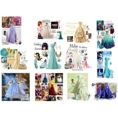 What Disney Princess Bride are You? Wedding Design Trends 2016, 2017 ❤ liked on Polyvore featuring home and children's room