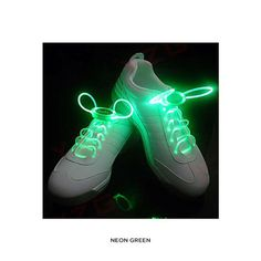4 Pairs: Waterproof LED Shoelaces at 79% Savings off Retail!