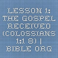Lesson 1 What is the Church Various Scriptures  Bibleorg