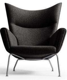Hans Wegner: Wegner CH445 Wing Chair - Danish Design Store