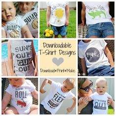 Downloadable T-Shirt Designs