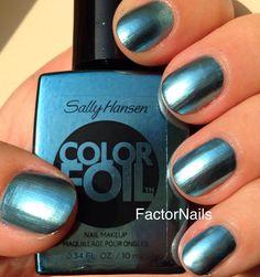 Sally hansen: Cobalt Chrome #blue polish