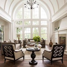 """Classic french interior design. Large arched windows, soft colors and high ceilings.. Gorgeous! #love #tweegram #photooftheday #amazing #followme…"""
