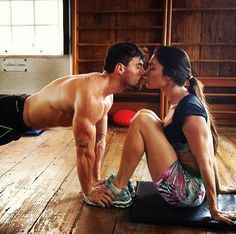 Cute Workout Partners l Couple Photography Cute Relationships, Relationship Goals, Fitness Gifts, Health Fitness, Fitness Women, Health Goals, Fitness Motivation, Daily Motivation, Fit Couples