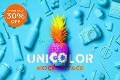 Unicolor Mockup Pack by Mockup Zone on @creativemarket