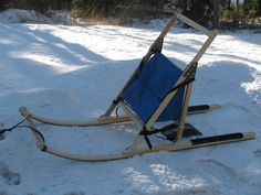 Kick Sleds - Adanac Sleds & Equipment Sleds For Sale, Dog Sleigh, Outdoor Fun, Outdoor Decor, Ice Fishing, Winter Sports, Get Outside, Hammock, Hunting