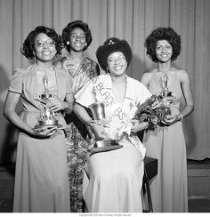 """Miss Black Ball State Pageant"" -- To learn more, visit the Ball State University Campus Photographs in the Ball State University Digital Media Repository. Copyright 2013, Ball State University. All rights reserved"