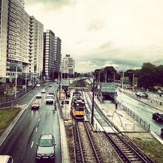 Found on Starpin. warszawa #dwgdański #ztm #bezmetra #view #street #streetview #city #tram #transport #warsaw