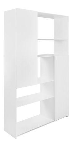 LEAF Étagères et bibliothèques Blanc Bois