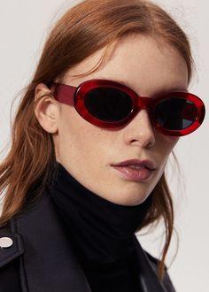 Acetate frame sunglasses | MANGO
