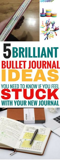 These bullet journal ideas are THE BEST! They're amazing ideas to help you use your journal successfully to organize your life and be productive! I'm so glad I found these bullet journal tips, now I can go about organizing my life easily! Pinning this for sure! #bulletjournaljunkies #bulletjournalcollection #bulletjournaling #bulletjournallove #journal #journaling #notebook #productivity #organize #organizing