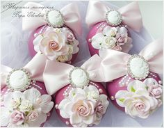 Купить Набор ёлочных шаров в интернет магазине на Ярмарке Мастеров