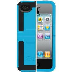OtterBox Reflex-Series Case for iPhone 4 (Blue/Black)