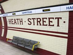 The original name for the station was Heath Street