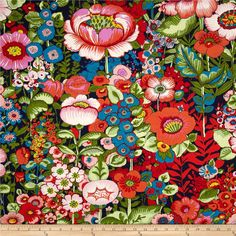 Folklorico Flores de Coyoacan Dark Marine from @fabricdotcom  Designed by DeLeon Design Group for Alexander Henry, this fabric is perfect for quilting, apparel and home décor accents.