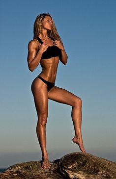 muscles, beautiful muscles.