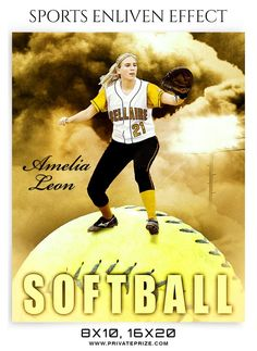 AMELIA LEON-SOFTBALL- SPORTS ENLIVEN EFFECT