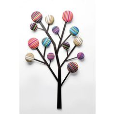Coat Rack Bubble Tree ($110) ❤ liked on Polyvore featuring home and home decor