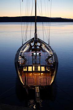 """Esense,"" 143-foot Wally- a jewel of the sea"