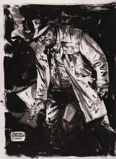 Harvey Bullock by Gabriel Hardman