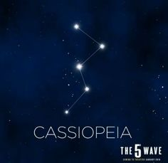 """""""Cassie for Cassiopeia, the constellation."""" 