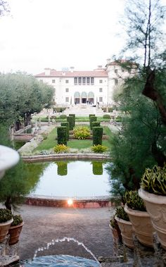 Vizcaya Museum & Gardens Wedding by Captured Photography by Jenny  Read more - http://www.stylemepretty.com/florida-weddings/2012/02/27/vizcaya-museum-gardens-wedding-by-captured-photography-by-jenny/