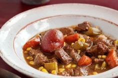 7. Beef Stew with Carrots, Corn, and Potatoes from The Ultimate 1-Pot Meal Roundup Slideshow