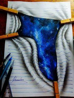 3d lines notepad drawings joao carvalho 20