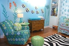 Wall Murals Nursery Ocean Themes