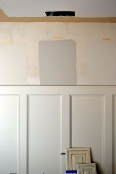 Wainscoting- for the entryway
