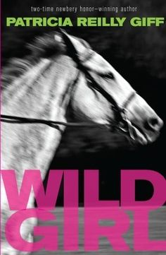 Wild Girl by Patricia Reilly Giff    Lidie doesn't like pink or Snow White anymore, and she is an excellent rider. Unfortunately, her horse-loving brother and father don't know this. They left for America when she was 5 years old, and Lidie is now 12 as she finally joins them.     Slowly, Lidie finds her way back into her new family, finding courage in the new filly and her brother's horse racing. Even without their mother, they must learn to be a family.    Powerful, short novel.