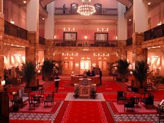 """Step Inside the Amazing Interiors On """"The Grand Budapest Hotel"""" 