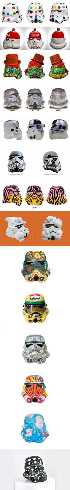 14 Amazing repaint stormtroopers helmet