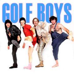 Golf Boys- Rickie Fowler, Ben Crane, Hunter Mahan and Bubba Watson