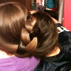 Braided together..  hahaha @Andra what do you think about us trying this for work?