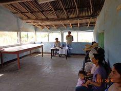 Personal técnico de la Gerencia Regional Saneamiento Físico Legal de la Propiedad Rural- PRO RURAL, brindado charla informativa a los pobladores del Sector Hualtaco II  del Distrito de Tambogrande.