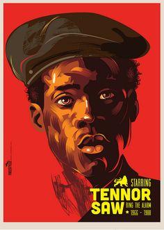 "Michael Thompson ""Freestylee"", Tennor Saw"