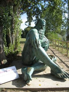 The Statue of Leonardo da Vinci at Loire River overlooks the Chateau d'Amboise and its city, where Leonardo spent the last years of his life working on a plan of an ideal city with Francis I of France.