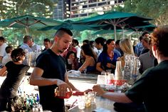 Rooftop of Bryant Park Grill, 25 West 40th Street (between Fifth and Sixth avenues); 212-840-6500.