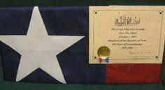 Buy a flag actually flown over the Alamo :O awesome senior boy gift idea!