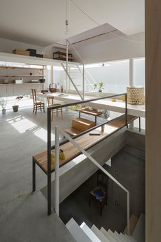Fragments of architecture — House in Toyonaka / Tato Architects Home Interior, Interior Architecture, Interior And Exterior, Cafe House, Japanese Interior, Architect House, Architectural Elements, Detached House, Exterior Design
