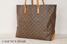 Louis Vuitton Monogram Cabas Alto Shoulder Bag M51152