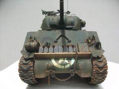 Foro Modelismo :: Ver tema - Sherman M4A3 75mm Tamiya 1/35 (Mesa Terminada)