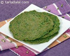 Sprouts Pancakes recipe | by Tarla Dalal | Tarladalal.com | #31058