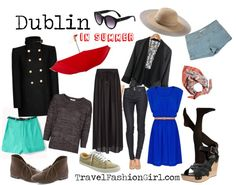 What to Wear in Ireland when Visiting Dublin in SUMMER #travel #fashion #PackingList