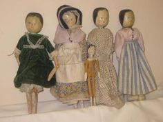 Peg Doll Ideas - Mrs B's dolls from the 1920s