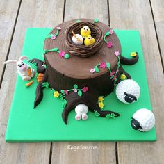 Easter cake to competition -Påskekage kagekonkurrence cake world Nordic 2014